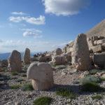 Terrasse ouest de Nemrut Dagi
