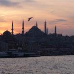 Istambul vue soir