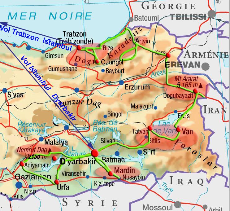 Turquie orientale Gilanik2