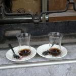 les petits verres à thé