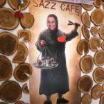 Publicité au Sazz café - Trabzon