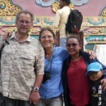 Avec Shreena à Swanyanbu