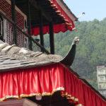 Toiture du temple