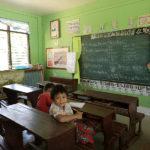 Une école mangyan