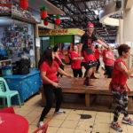 Zumba au marché de Calapan