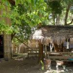 Village de paille et bambous
