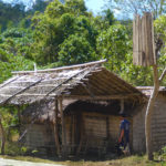 Habitat traditionnel mangyan
