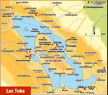 Petit Futé Lac Toba