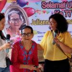 Fête d'anniversaire de Juliana : 77 ans