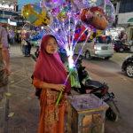 Vendeuse de ballons