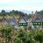 Tombes au pays batak-karo