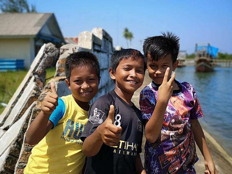 Sur le port de Ampang Pulai