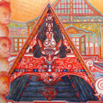 Totem et architecture - Ile Samosir