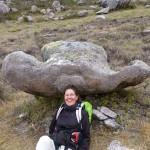 Il parait que cette roche est un chapeau de gendarme !