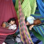 Sieste à bord du Rondonia