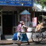 Voitures à bras de Calcutta - Inde