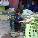 Sur la marché de Machen - Kham - Chine