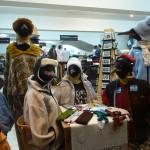 Vitrine de prêt-à-porter à Ushuaia - Argentine