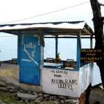 Un petit resto sur le tour des Anapurna - Népal
