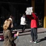 Distributeur de bisous à Buenos Aires - Argentine
