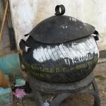 Pneus pour poubelles vietnamiennes