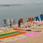 Sur les gaths de Varanasi - Inde