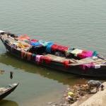 Sur le Gange à Varanasi - Inde