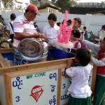 Mister cone à Myitkiyna - Birmanie