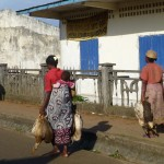 Retour du marché à Mananjary