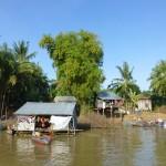 Habitations sur la rivière