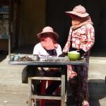 Le pyjama très tendance au Cambodge!