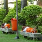 Jardiniers au repos! Rio de Janeiro