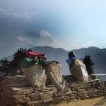 La pose des Sherpas - Népal