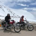 La Nubra à moto