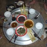Diner chez les Akkha - Laos -