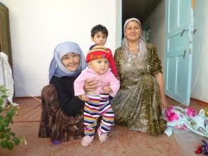 Ulmaxan et sa famille