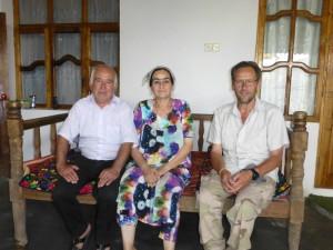 Avec Nioskul et sa femme