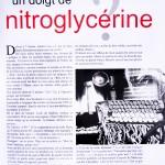 Vous reprendrez bien un doigt de nitroglycérine?