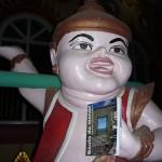 BMD au temple de Banmaw