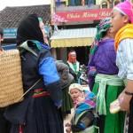 Mères et filles à Bao Lac  - Vietnam