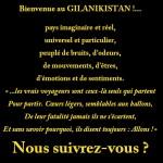 Bienvenue au Gilanikistan!