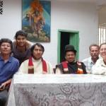 Déjeuner avec les chefs Guambianos et Fabio
