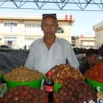 Fruits secs à Kokand