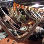 Début de nuit à bord du Pachito