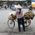Vente ambulante à Hanoi - Viet Nam