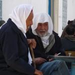 A la terrasse d'un café de Kairouan - Tunisie