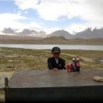 Jeune barman en Kirghizie