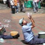 Faiseur de bulles à Medellin - Colombie