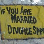 Si tu es marié, divorce de la vitesse!