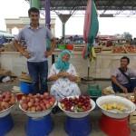 Vendeuse de pommes